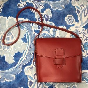 Michael Green Scandia Bag USA red crossbody bag